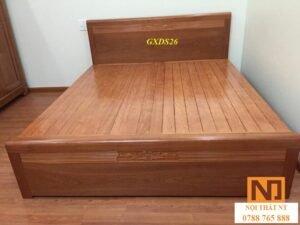 Giường có ngăn kéo xoan đào hàng đẹp giá rẻ